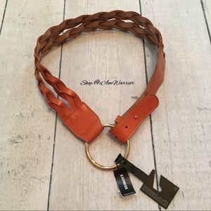 Express NWT braided ring belt
